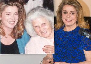 Se svou maminkou, které je neuvěřitelných 106 let.