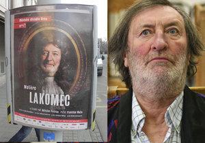 Bolek Polívka si v nové hře Městského divadla Brno zahraje Moliérova lakomce Harpagona.