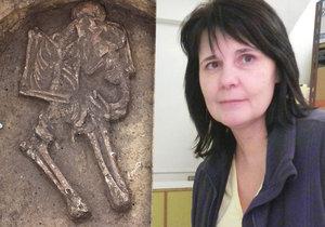 Mateřská láska u Vyškova stará 4000 let: Žena objímá v hrobě své dítě! »Fascinující, dojemné, unikátní,« říká česká archeoložka
