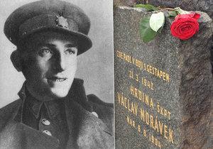 Před 76 lety tragicky skonal Václav Morávek, hrdina protinacistického odboje. Bojoval do poslendního dechu.