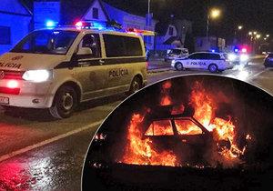 Při tragické autonehodě v Liptovském Mikuláši zemřeli dva lidé. Mladík ve voze doslova uhořel.