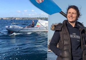 Učitelka Kiko Matthews (36) porazila dva nádory a překonala světový rekord v přeplutí Atlantiku.