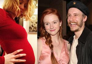 Herečka Marie Doležalová je těhotná! Radostnou zprávu tajila 5 měsíců.