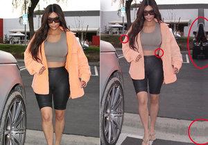 Kim Kardashian se ztrapnila! Ve photoshopu si protáhla postavu a zmenšila stehna.