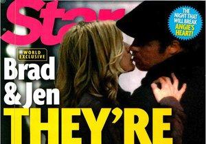 Nejnovější obálka amerického magazínu Star.