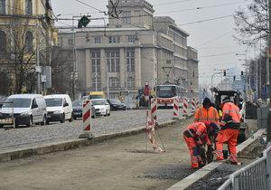 Rekonstrukce na nábřeží Kapitána Jaroše