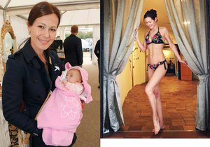 Modelka Jana Doleželová má 9 měsíců od porodu skvělou postavu.
