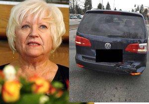 Hvězda Ordinace měla autonehodu! Velká rána a utržené zrcátko, popisuje herečka.