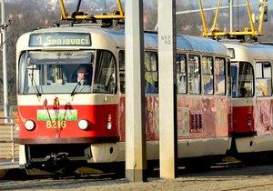 Linka 1 je ozdobena velikonočními motivy. Brázdit ulice bude až do Velikonočního pondělí.