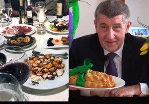 Andrej Babiš na Velikonoce vyrazil pryč z Česka. Rodinu vzal na Kanárské ostrovy a pochlubil se lákavě vypadající večeří