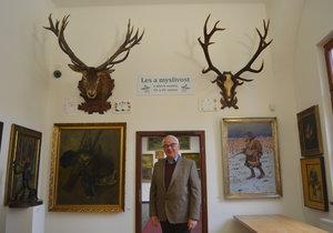 Největší jelení parohy ukazují v Hradišti