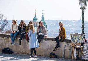 Na pražských vyhlídkách je plno