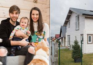 Těhotná Míša Tomešová ukázala rozdělaný dům: Sem porodí druhé dítě!