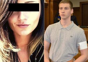 Patrik Konečný si za vraždu Sabiny odsedí dvacet let za mřížemi.