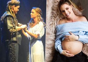 Nela porodila své druhé dítě cestou do porodnice.