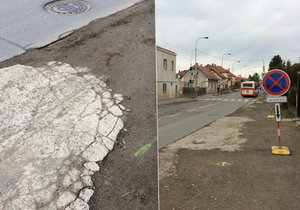 Konec tankodromu v Písnici: Oprava Libušské je vítaná, dopravu zkomplikoval chybějící semafor