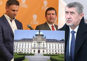 Klíčové jednání o společné vládě čeká hnutí ANO a ČSSD ve čtvrtek