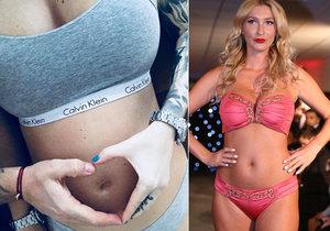Dominika Mesarošová potvrdila těhotenství.
