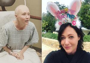 Statečná Brenda z Beverly Hills po léčbě rakoviny.