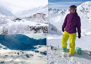 Na ledovci Stubai se lyžuje do června!