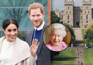 Britská královská rodina 7 týdnů před svatbou prince Harryho a Meghan Markle: Windsor = víc než domov!
