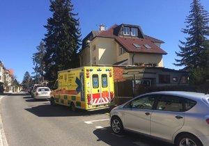 Policie nechala Vilímovskou ulici vyklidit kvůli ozbrojenému muži.