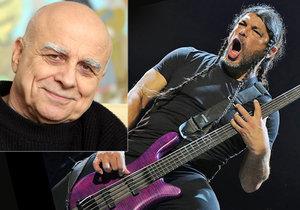 Skupině Metallica skladbu Jožin z Bažin doporučil kamarád žijící v Praze.