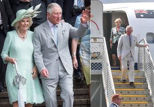 Návštěva prince Charlese a jeho manželky Camilly se Australanům pěkně prodraží. Jen náklady za jejich dopravu přesahují 2 miliony korun, peníze půjdou z kapes daňových poplatníků.