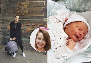 Zprávařka z Primy Gabriela Lašková se pochlubila první fotkou syna.