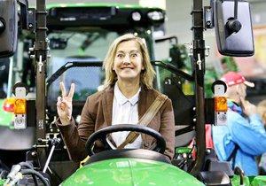 Vanda Hybnerová vlastní farmu na Vysočině.
