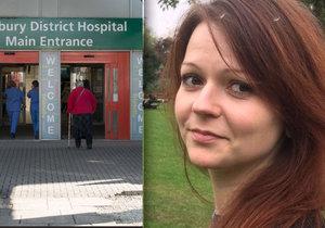 Julija Skripalová byla podle zdroje v pondělí 9. dubna propuštěna z nemocnice.