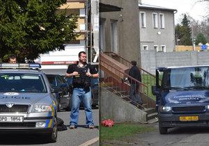 Policisté z Domažlic měli pořádnou kliku: Střelbu schizofrenika přežili jen náhodou, tvrdí vyšetřovatelé