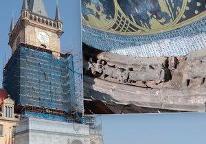 Rekonstrukce Staroměstské radnice je v plném proudu. Bylo při ní objeveno i několik středověkých uměleckých děl či vzkaz budoucím generacím.