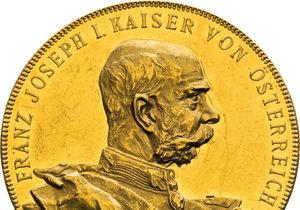 V Praze proběhne aukce největší sbírky mincí s vyobrazením Františka Josefa I.