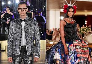 Talentovaný model Petr Havránek (21) stál na molu s takovými hvězdami, jako je Naomi Campbell (47)!