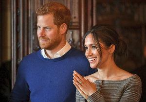 Meghan a princ Harry chystají svatbu s 1200 hosty.