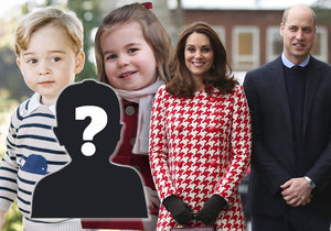 Princ William sdělil jméno třetího potomka.
