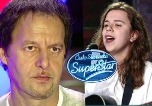 Drsný porotce SuperStar Habera o soutěžící: Je to zdechlá mršina!