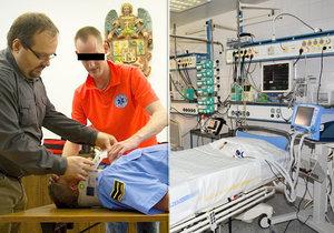 Plzeňský lapiduch zfalšoval diplomy: Sanitář chtěl léčit na JIP! Nakonec ho odhalili
