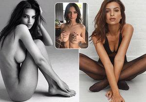 Sexy modelka Emily Ratajkowski: Dráždí nahotou a nezávazným sexem!