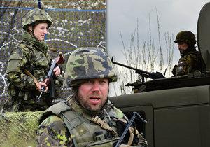 Největší cvičení v historii: Vojáci v záloze ve Stodůlkách před teroristy brání areál vodárny