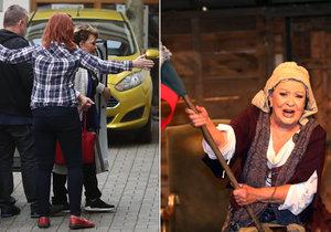 Potlučená Jiřina Bohdalová (86) po děsivém pádu ze schodů...