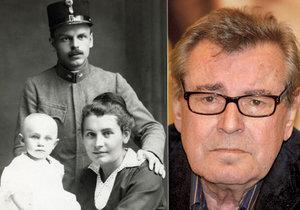 Miloš Forman se se svým pravým otcem Otto Kohnem nikdy nesetkal.