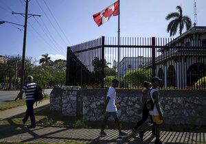 Kanada z Kuby odvolala rodiny svých diplomatů, příčinou je zřejmě záhadná nemoc.