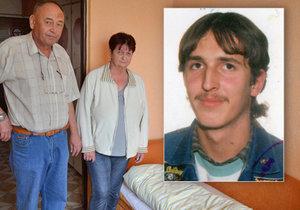 Milan Ondruš na fotografii staré zhruba 20 let údajně pobývá někde v Praze. Jak vypadá po 20 letech, rodiče netuší. Postel pro něj mají doma stále připravenou.