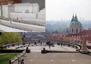 Unikátní výstava na Pražském hradě dá nahlédnout do nepřístupných prostor pod Plečnikovou vyhlídkou.