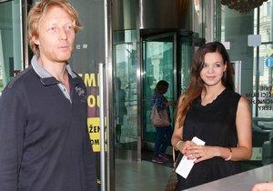 Miliardář Karel Janeček s těhotnou partnerkou Liliou