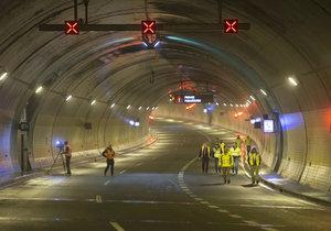 Mytí tunelu Blanka: Nejdříve ho uzavřou směrem na Prahu 5, poté kompletně