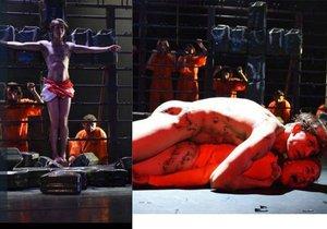 Církev, část politiků i lidí se bouří proti uvedení divadelní hry »Naše násilí a vaše násilí«, kde mimo jiné Ježíš znásilňuje muslimku. Hru chorvatského autora má v programu v rámci festivalu Divadelní svět Brno brněnské národní divadlo.