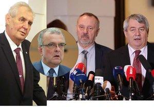Kalousek: Zeman je s komunisty jedna ruka. Oplácí jim podporu za volby